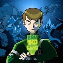 Ben Tennyson in un wallpaper della serie animata Ben 10