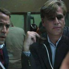 Jeremy Piven e Aaron Sorkin in una scena dell'episodio 'The Sorkin Notes della sesta stagione di Entourage