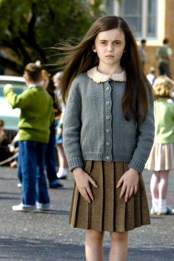 Lara Robinson in una scena del film Segnali dal futuro