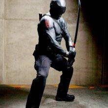 Ray Park in uno scatto promozionale per il film G. I. Joe: La nascita dei Cobra