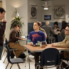 Johnny Galecki, Jim Parsons e John Ross Bowie nell'episodio The Electric Can Opener Fluctuation di  The Big Bang Theory