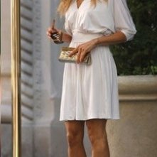 Sarah Jessica Parker sul set del secondo capitolo di Sex and the City