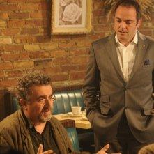 Saul Rubinek in un momento dell'episodio Breakdown di Warehouse 13