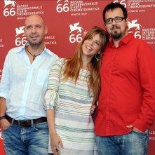 Venezia 2009: Jaume Balagueró, Paco Plaza e la bella Manuela Velasco presentano REC 2