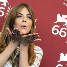 Venezia 2009: la simpatica Manuela Velasco presenta REC 2 di cui è protagonista