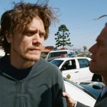 Michael Shannon e Willem Dafoe in una scena del film My Son, My Son What Have Ye Done