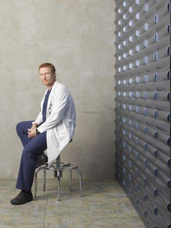 Una foto di Kevin McKidd per la sesta stagione di Grey's Anatomy