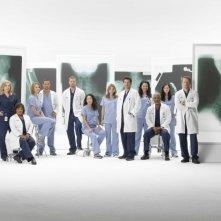 Una foto promozionale per il cast al completo  per la sesta stagione della serie tv  Grey's Anatomy
