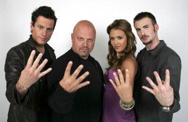 Una simpatica foto promozionale de 'I Fantastici Quattro'