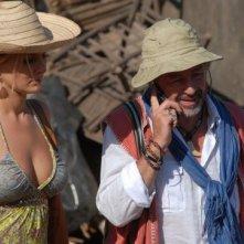 Antonio Catania e Loredana De Nardis in una scena del film tv Un coccodrillo per amico