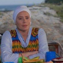 Barbara De Rossi in una scena del film tv Un coccodrillo per amico