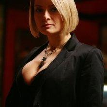 Maria Rosaria Russo in versione sexy sul set della fiction Fratelli Detective