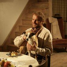 Terence Hill in una scena della fiction Mediaset Doc West