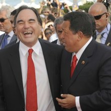 66esima Mostra del Cinema di Venezia: Hugo Chavez con Oliver Stone per presentare il documentario South of The Border