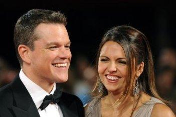 66esima Mostra del Cinema di Venezia: Matt Damon presenta The Informant! accanto a sua moglie Luciana