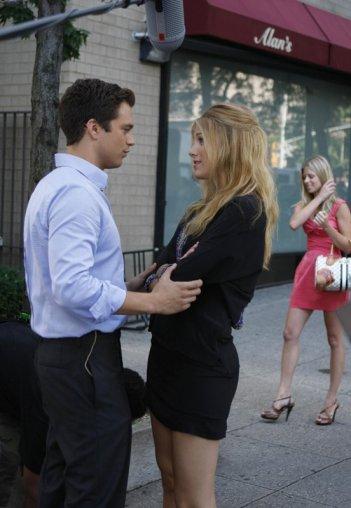 Carter (Sebastian Stan) e Serena (Blake Lively) nell'episodio The Lost Boy della 3 season di Gossip Girl