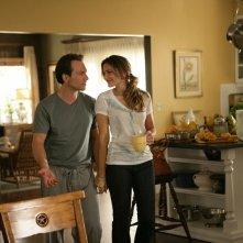 Henry Spivey (Christian Slater) e Angie Spivey (Madchen Amick) in una scena della serie My Own Worst Enemy