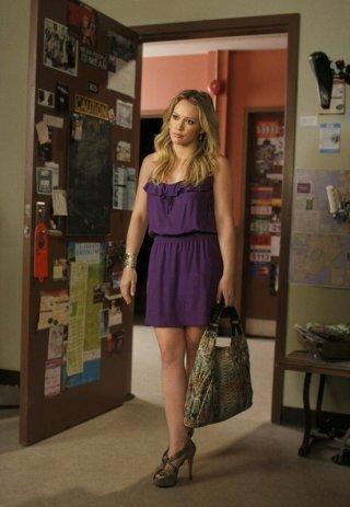 La guest-star Hilary Duff interpreta Olivia Burke nell'episodio Dan de Fleurette della season 3 di Gossip Girl