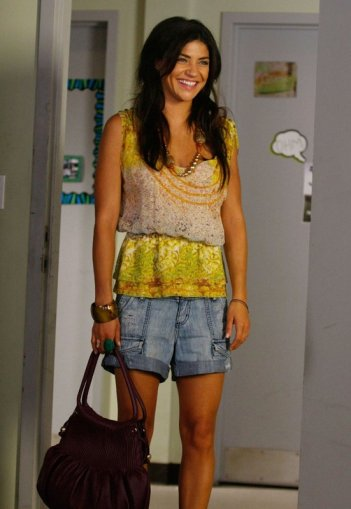 Vanessa Abrams (Jessica Szohr) in una scena dell'episodio The Freshman di Gossip Girl