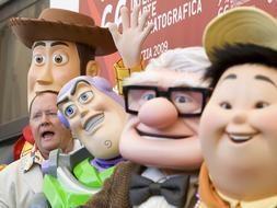 Venezia 2009: John Lasseter insieme ai personaggi ideati dalla Pixar