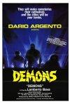 Locandina straniera del film Demoni (1985)