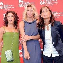 Venezia 2009: Margherita Buy, Valeria Parrella e Cristina Comencini presentano Lo spazio bianco