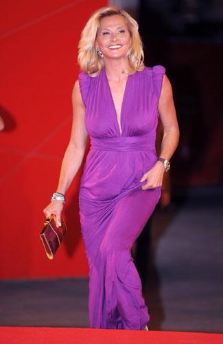 Venezia 2009: Simona Ventura alla premiere di Capitalism, di Michael Moore