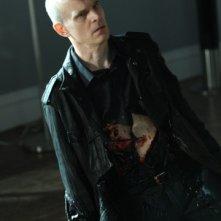 Zeljko Ivanek in una scena della premiere della stagione 4 di Heroes