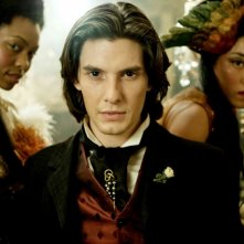 Ben Barnes in una sequenza del film Dorian Gray