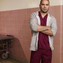 Guillermo Diaz è Angel Lopez in una immagine promozionale di Mercy