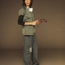 Katherine Moennig è la dottoressa Miranda Foster in una immagine promozionale della serie Three Rivers