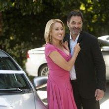 Ken Olin insieme a Patricia Wettig nel primo episodio della quarta stagione della serie Brothers & Sisters
