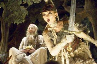 Lily Cole in un'immagine del film Parnassus - L'uomo che voleva ingannare il diavolo