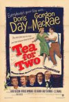 Locandina del film Tè per due (1950)