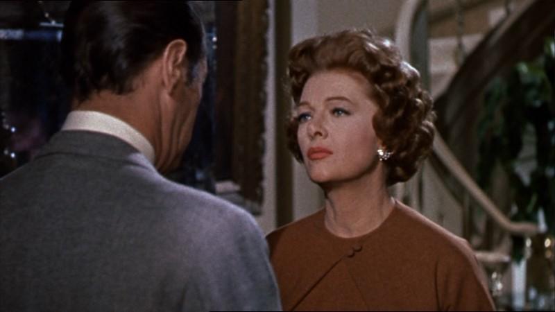 Myrna Loy In Una Scena Del Film Merletto Di Mezzanotte 1960 130329