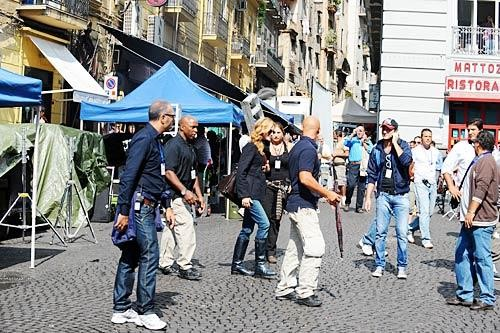 Napoli Julia Roberts A Forcella Per Le Riprese Del Film Eat Pray Love 130391