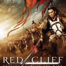 Poster USA per il film The Battle of Red Cliff