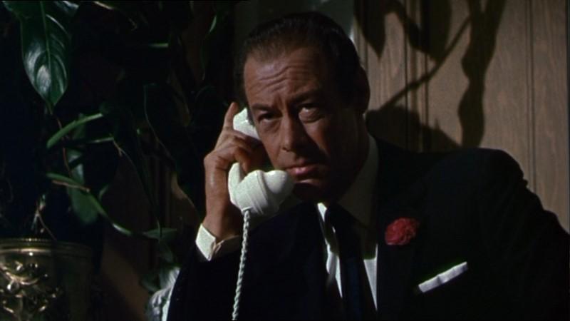 Rex Harrison In Una Scena Del Film Merletto Di Mezzanotte 130327