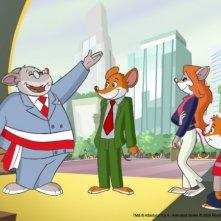 Un'immagine della serie animata Geronimo Stilton