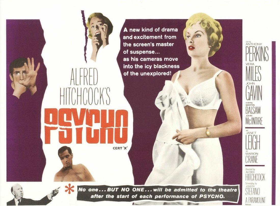 Wallpaper Del Film Psycho 1960 130340