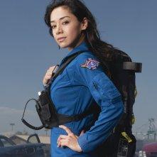 Aimee Garcia in una immagine promozionale della serie Trauma