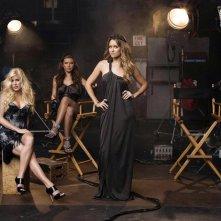 Il cast principale della quinta stagione di The Hills in una foto promo