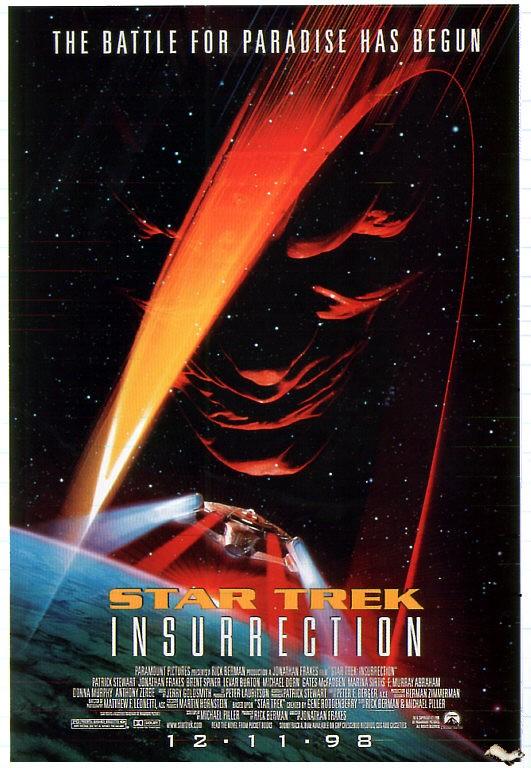 La Locandina Di Star Trek L Insurrezione 130545
