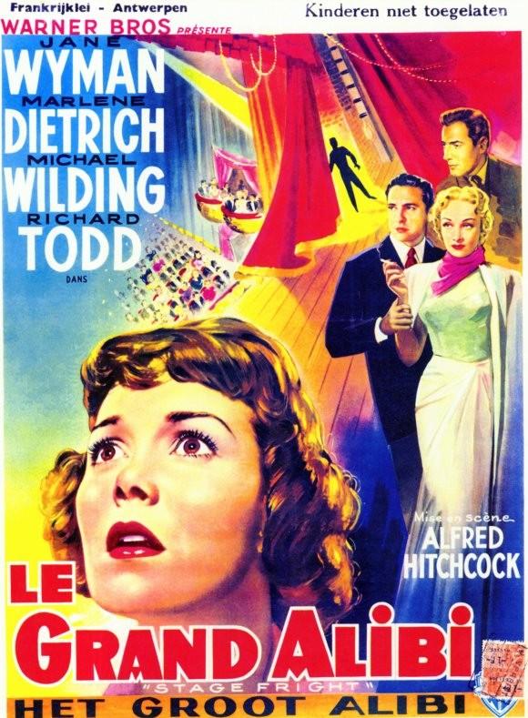Locandina Tedesca Del Film Paura In Palcoscenico 1960 130550