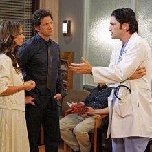 Ghost Whisperer: Jennifer Love Hewitt, Jamie Kennedy e David Conrad nell'episodio See No Evil, della quinta stagione