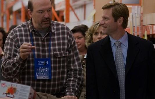 John Carroll Lynch E Aaron Eckhart In Una Scena Del Film Love Happens 130656