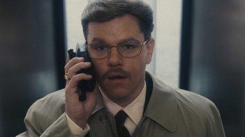 Matt Damon è il protagonista del film The Informant! di Steven Soderbergh