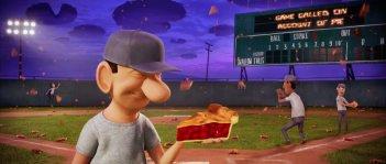 Un'immagine dal film Piovono polpette