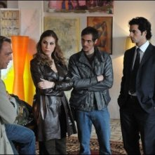Antonio Cupo e gli altri protagonisti de Gli occhi dell\'assassino