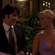 Stephen Moyer e Anna Paquin in una scena dell'episodio 'Beyond Here Lies Nothin'' della serie tv True Blood